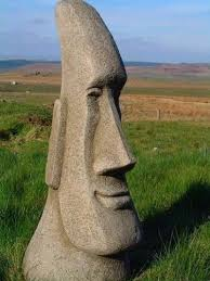 brilliant large easter island moai garden ornament co