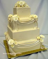 square wedding cakes 4 tier square wedding cake wedding cakes