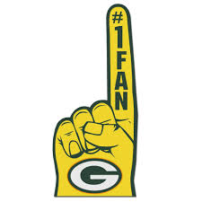 Green Bay Packer Flag Green Bay Packers 1 Fan Foam Finger Free Shipping On Orders