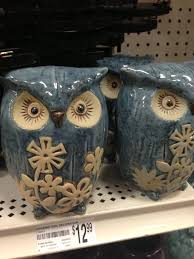 cutest decorative owls at michaels arts and crafts store i plan