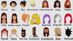esl hairstyles hairstyle vocabulary in english going to the hairdresser youtube