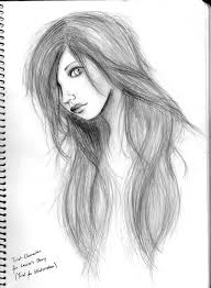 pencil sketches of sad u0027s face easy pencil drawings of girls