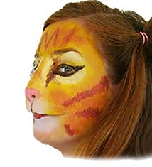 amazon com latex cat face clothing