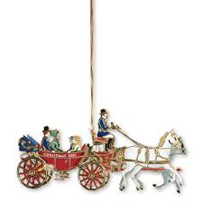 2001 white house ornament a family s carriage