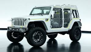 moab jeep safari 2017 is the jeep safari concept a preview of the new wrangler jl the
