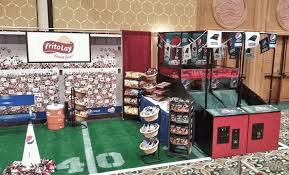 themed photo booth football booth in a box build your trade show booth