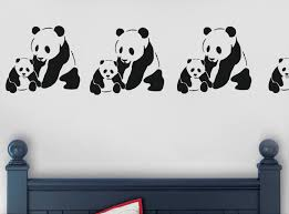 Bedroom Design Panda Bedroom Wall Quotes Simple And Neat Design For Interior