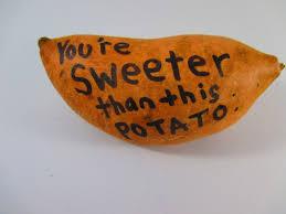 send a birthday gram sweet potato gram funky delivery