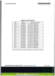 2009 u2013 2017 kawasaki kaf620r s mule 4010 trans4x4 service manual
