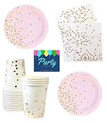 pink and gold party supplies pink and gold party supplies party supplies