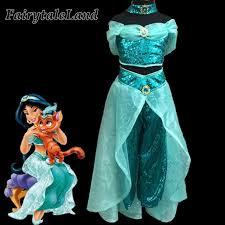 Belly Dance Halloween Costume Aliexpress Buy Girls Jasmine Costume Kids Halloween Costumes