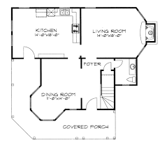 Victorian Floor Plan by Victorian Style House Plan 3 Beds 2 50 Baths 1691 Sq Ft Plan 43 102