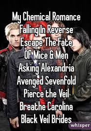 Falling In Reverse Memes - chemical romance falling in reverse escape the fate of mice men