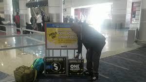spirit airlines bag sizes youtube