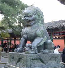 shishi statue shishi intellectual revolution