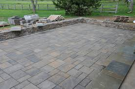 Build Paver Patio Cultured And Pavers Complete On The Pergola Patio Interior