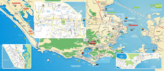 touristic map of map of de janeiro tourist attractions sightseeing tourist tour