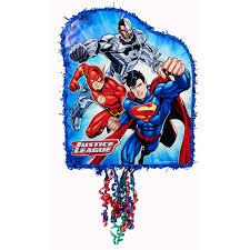 optimus prime pinata justice league pull string pinata birthdayexpress