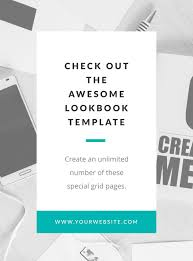awesome lookbook template u2013 bel canto