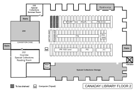 Book Locations Floor Maps Bryn Mawr College Library Special Floor Plans