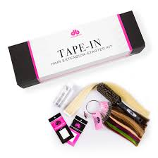 Hair Extensions Tape by Tape In Hair Extension Starter Kit Buy Tape In Hair Extensions