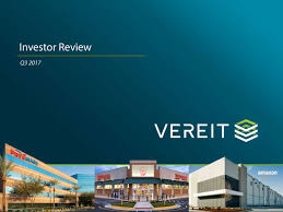Seeking Ver Vereit Ver Investor Presentation Slideshow Vereit Inc Nyse