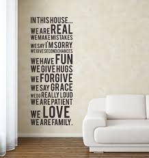 House Rules Design Ideas Family Rules Wall Decal Home Design Planning Cute Lovely Home