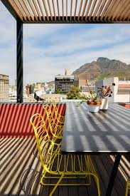 flux outdoor chairs jerszy seymour magis rooftop pool and