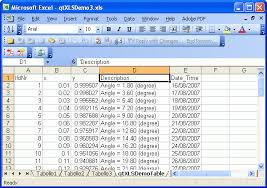 qtxls library for excel data import and export