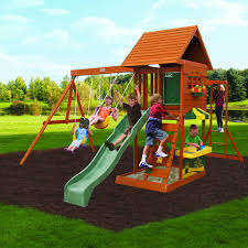 Backyard Adventures Price List Big Backyard Sandy Cove Swing Set Walmart Com