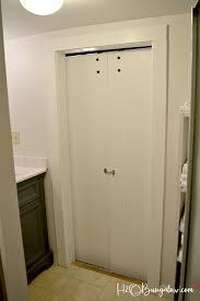 Barn Doors For Bathrooms by Interior Diy Double Barn Door Tutorial H20bungalow