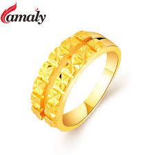 aliexpress buy gents rings new design yellow gold camaly brand 2017 new design men s yellow gold filled jewelry