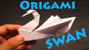 how to make an origami swan intermediate rob u0027s world youtube