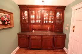 custom china cabinet u0026 bench seat wexford custom homes