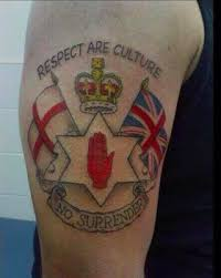 a loyalist tattoo from northern ireland one way of feeling that