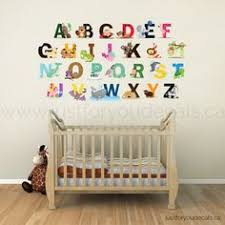 Alphabet Wall Decals For Nursery Alphabet Nursery Wall Decal Playroom Wall By Justforyoudecals