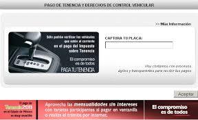 tenencia df consulta 2016 de pago de tenencia estado de mexico