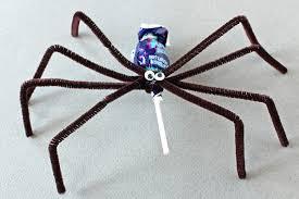 spider lollipops halloween craft