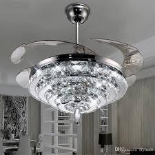 elegant chandelier ceiling fans extraordinary chandelier ceiling fan 2018 led crystal lights