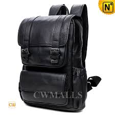 Rugged Leather Backpack Cwmalls Rugged Leather Travel Backpack Cw916005