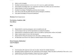 Firefighter Resume Examples by Boat Captain Resume Templates Reentrycorps