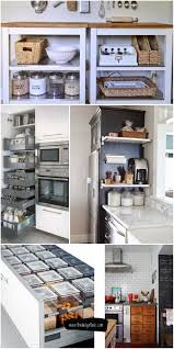 kitchen cabinet storage ideas 61 unique kitchen storage ideas easy storage solutions for