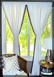 Curtains With Pom Poms Decor Pom Pom Curtains 100 Retro Shower Curtains Vintage Bathroom