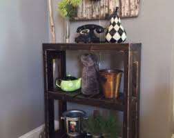 Rustic Wood Bookshelves by Rustic Bookcase Etsy