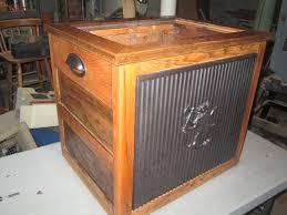 Wood Audio Rack Indoor Firewood Rack With Table Top