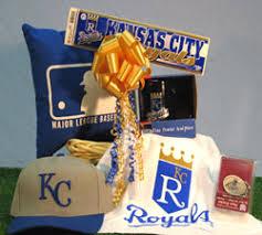 Baseball Gift Basket Kansas City Royals Baseball Sport Gift Basket