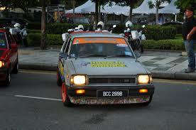 kereta mitsubishi lama putrajaya autoshow convoy and gathering pacg participants