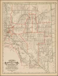 map of nevada cram s rail road township map of nevada pulblished by geo f