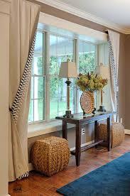 Front Windows Decorating Charming Living Room Window Decor Panels Bay Furniture Arrangement