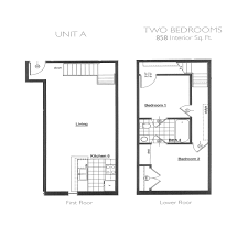 two bedroom floor plans plant zero